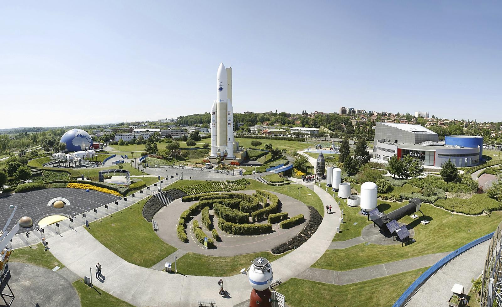 The Cité de l'Espace (Source: Tourisme Toulouse)