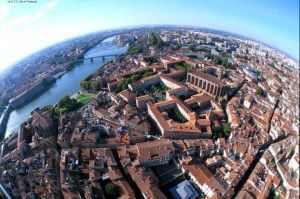 Toulouse downtown (source : STC - city of Toulouse)