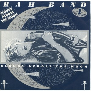"RAH Band's single ""Clouds across the Moon"""