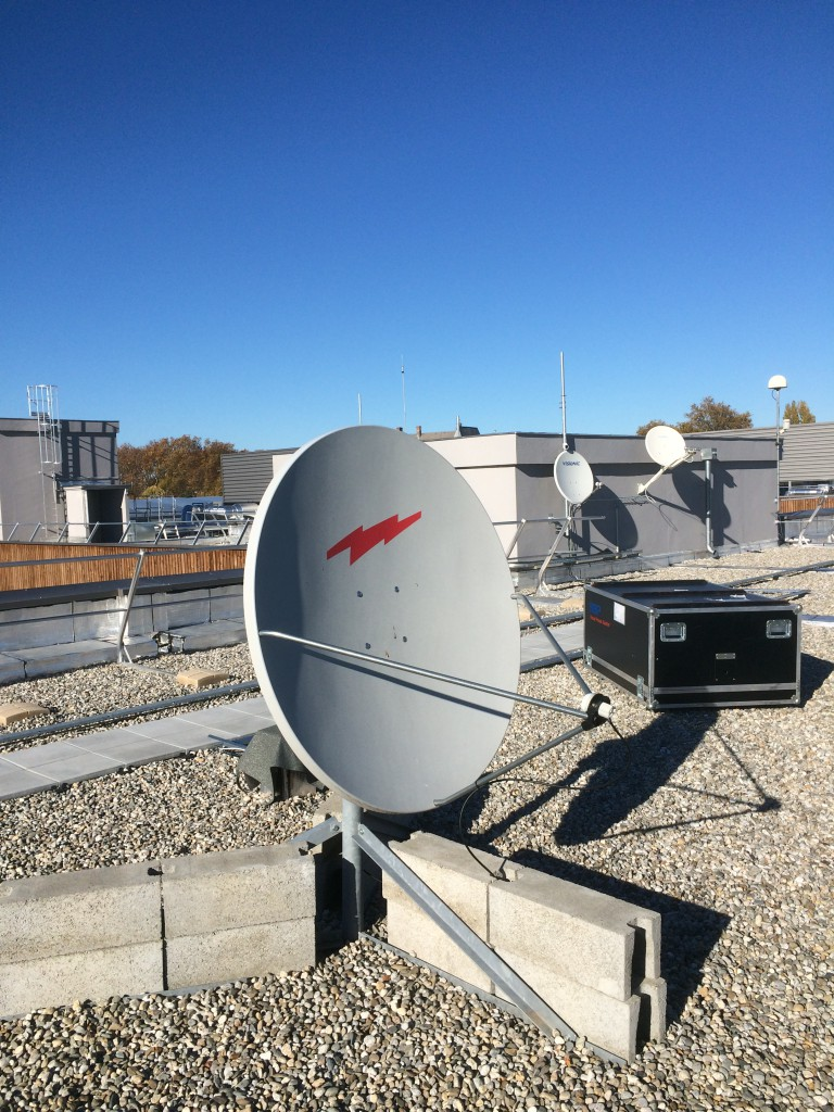 The lab antennas